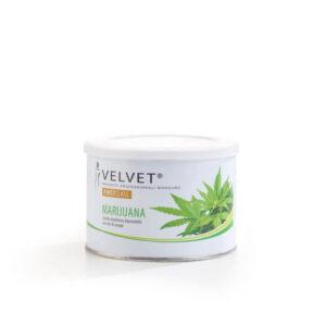 Velvet vosak za depilaciju limenka Konoplja 400ml