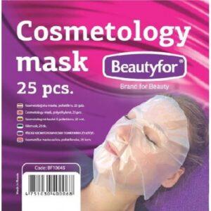 Kozmetičke PVC maske za lice PVC 25 kom.