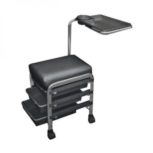 "Pedikerska stolica sa 3 ladice "" CH-5005″ crna"
