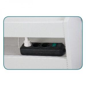 Pofesionalna kolica za pribor PODO + UV sterilizator