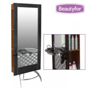 "Salonsko ogledalo ""132B"" smeđa"