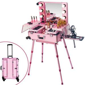 "Kofer za Make-up ""KC-210"" rozi"