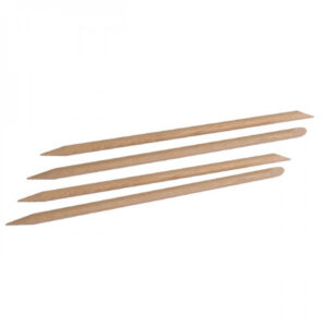 Drveni štapići za nokte, RAVNI 120 mm