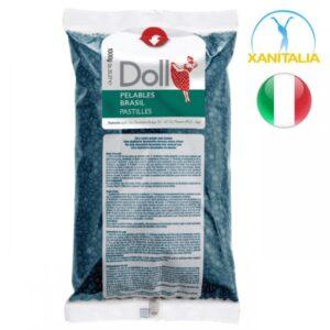 Vosak za depilaciju Granule Doll brasil 1kg Azulen
