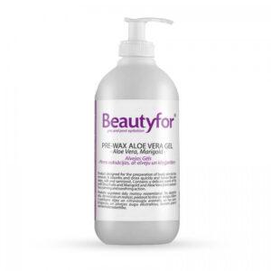 Beautyfor gel prije depilacije Aloe Vera 500ml
