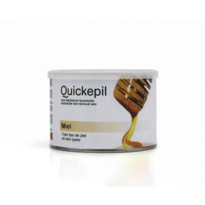 QUICKEPIL vosak za depilaciju limenka med 400ml